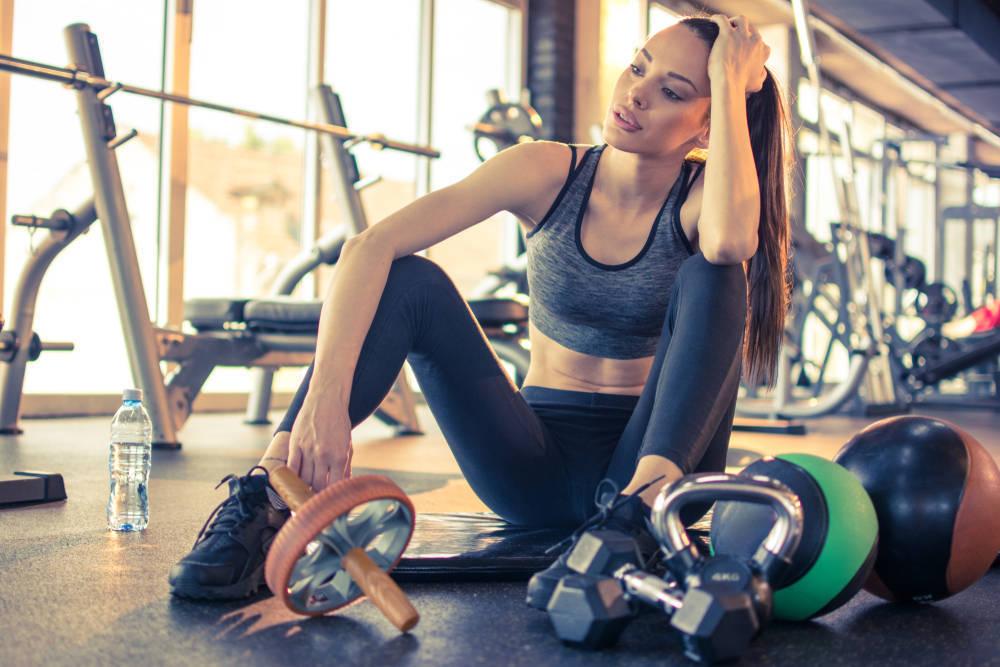 Ir al gym, y salir enferma