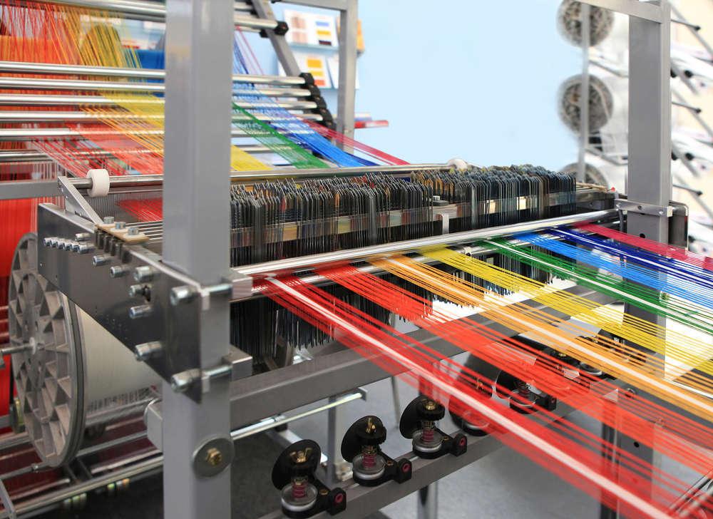 Cómo trabaja una fábrica de textil